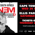 Eminem Rapture Tour Cape Town, Feb 2014