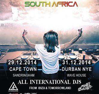 [WIN] IBIZA World Tour Cape Town, 29th Dec 14
