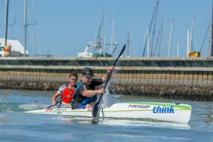 Junior Surfski series world champion, Kenny Rice