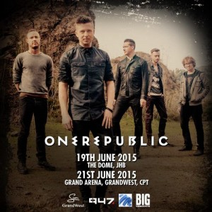 One Republic in South Africa 2015