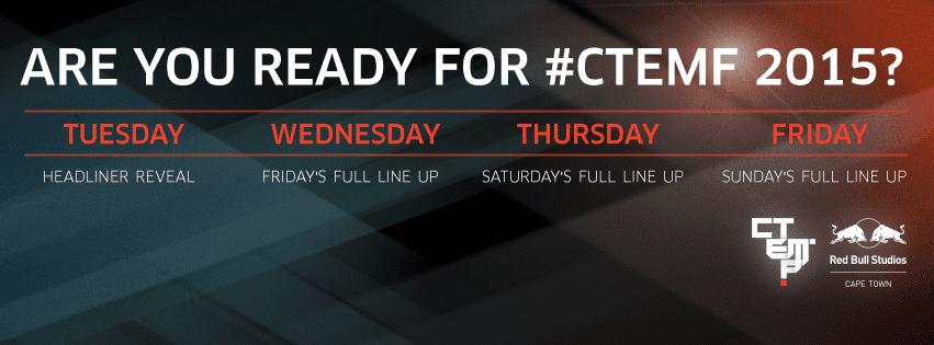 CTEMF 2015 Headliners: