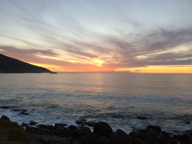 Sunset at Oudekraal, Cape Town