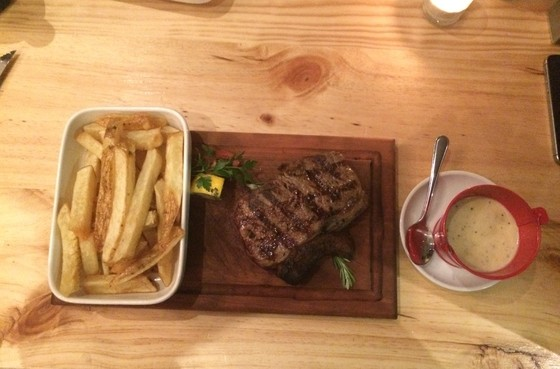 Sirloin Steak at the Eatery