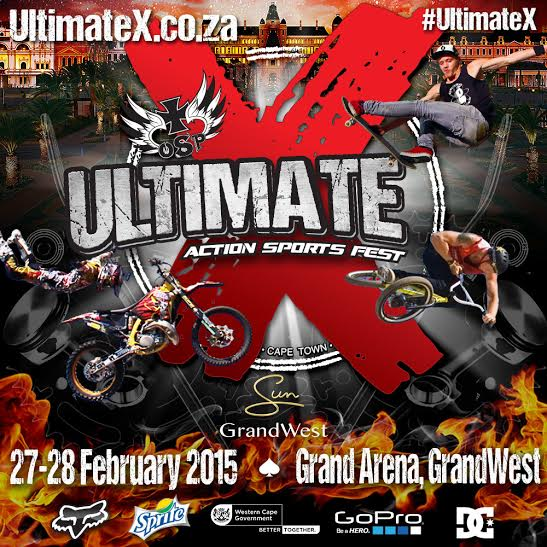 Ultimate X 2015 poster