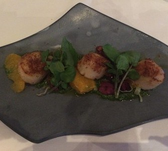 Scallops at Catherinas