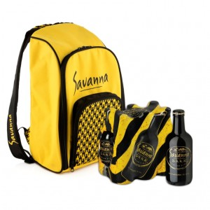Savanna Dark Backpack Cooler Bag - Dark LR