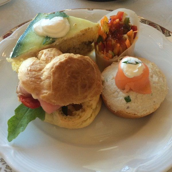 Tea Sandwiches at the Table Bay Hotel