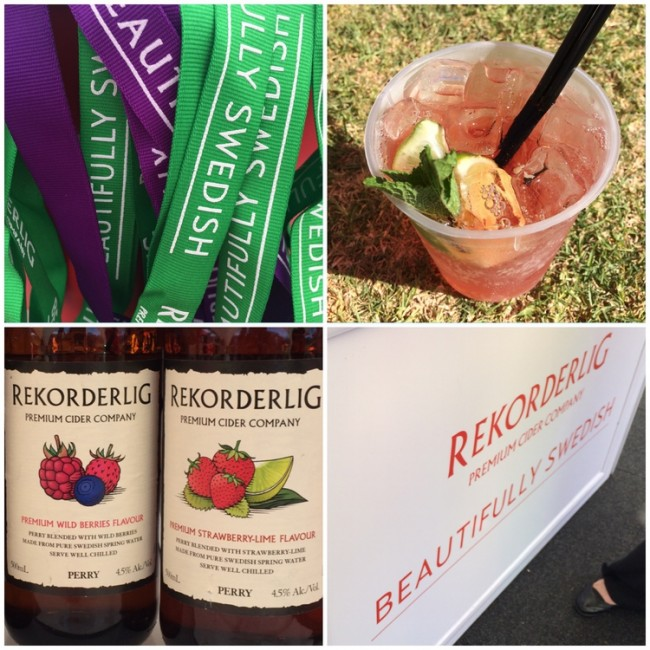 Rekorderlig at the Taste of Cape Town 2015
