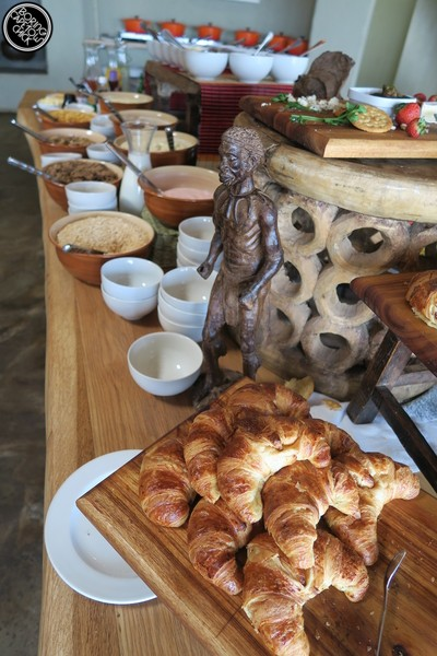 Gondwana game reserve breakfast