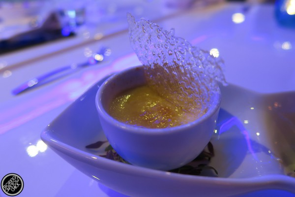 Creme Brulee at the Glass lounge at the Milner Hotel