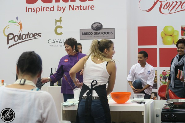 Good Food and Wine Show 2015 Cape Town Jenny Morris