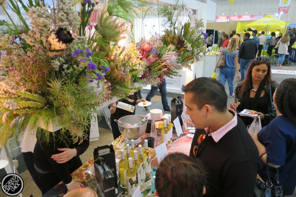 Good Food and Wine Show 2015 Cape Town Flower display