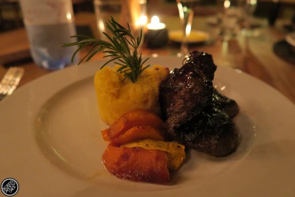 Gondwana Steak and Polenta