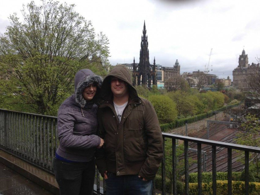 2013 - Freezing in Edinburgh