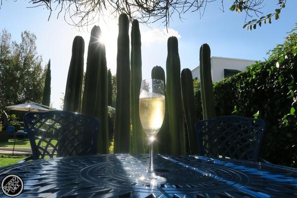 Majeka House Villiera brut sparkling wine