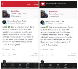 How to Leave a Review on Zomato