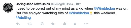 Wimbledon Tweet