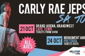 Carly Rae Jepsen LIVE in Cape Town 2015