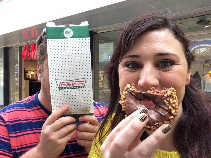 Chocolate Fudge Donuts