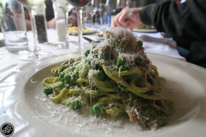 spring pasta at societi bistro