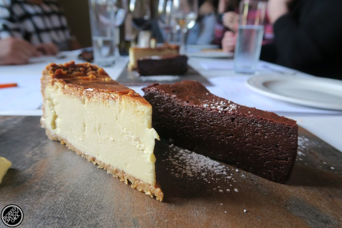 Societi Bistro cheesecake.