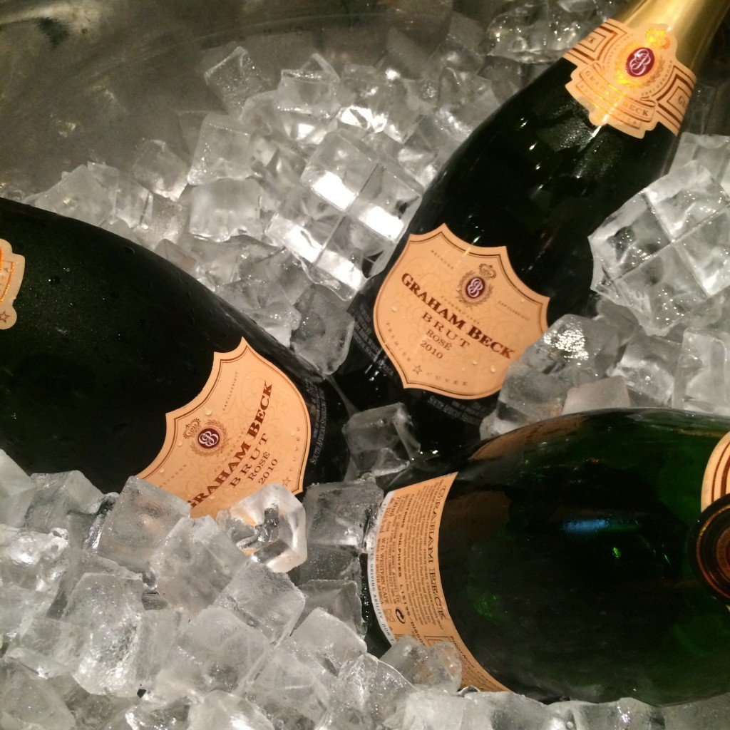 Graham Beck sparkling wine