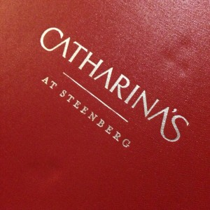 Catharina's at Steenberg