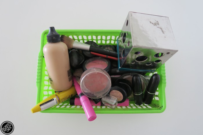 mac Make Up tray