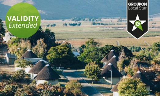 Breedekloof Wine Valley Two Night Weekday Stay for Up to Four at ATKV Goudini Spa
