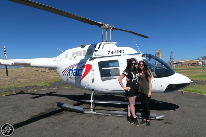 NAC Helicopters - Cape Town - Boring Cape Town Chick 11