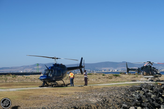 NAC Helicopters - Cape Town - Boring Cape Town Chick 47