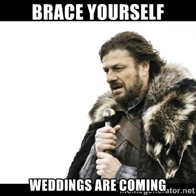 Weddings Are Coming